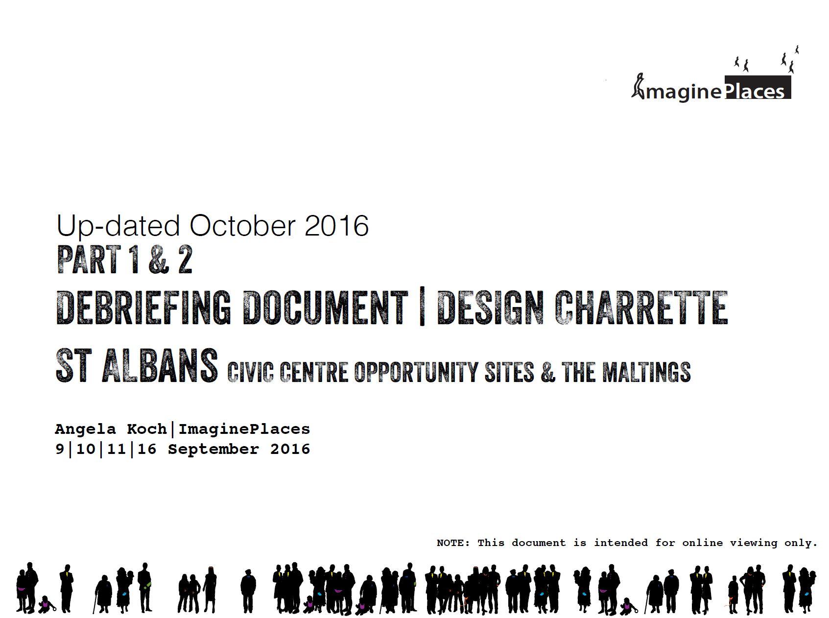 CCOS Design Charrette Debrief Parts 1 & 2