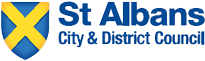 A picture of the St Albans and District Council logo