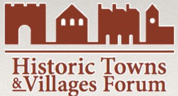 A picture of the Historic Towns and Villages Forum logo